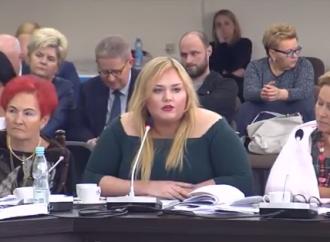 Kolejne znakomite wystąpienie Radnej Mileny Kowalskiej