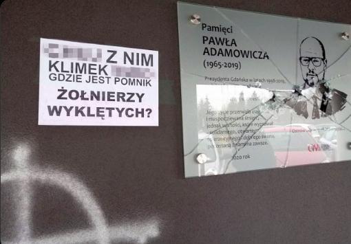 Faszystowski ściek wciąż na ulicach